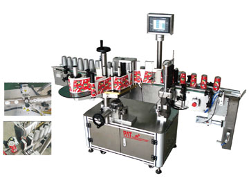 Fully Automatic Self-Ahesive Labelling Machine for Conical Shaped Containers