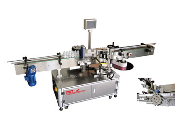Fully Automatic Labelling Machine with Star Wheel System