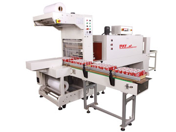 AUTOMATICSLEEVE SEALING &SHRINKING  PACKAGERPAT-6030A+PAT-6040 (WITH-TRAY )